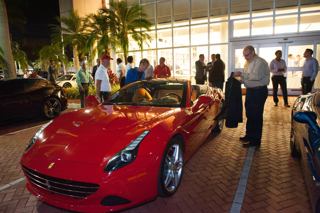 October 22, PB Hedge fund Assoc. Ferrari PB