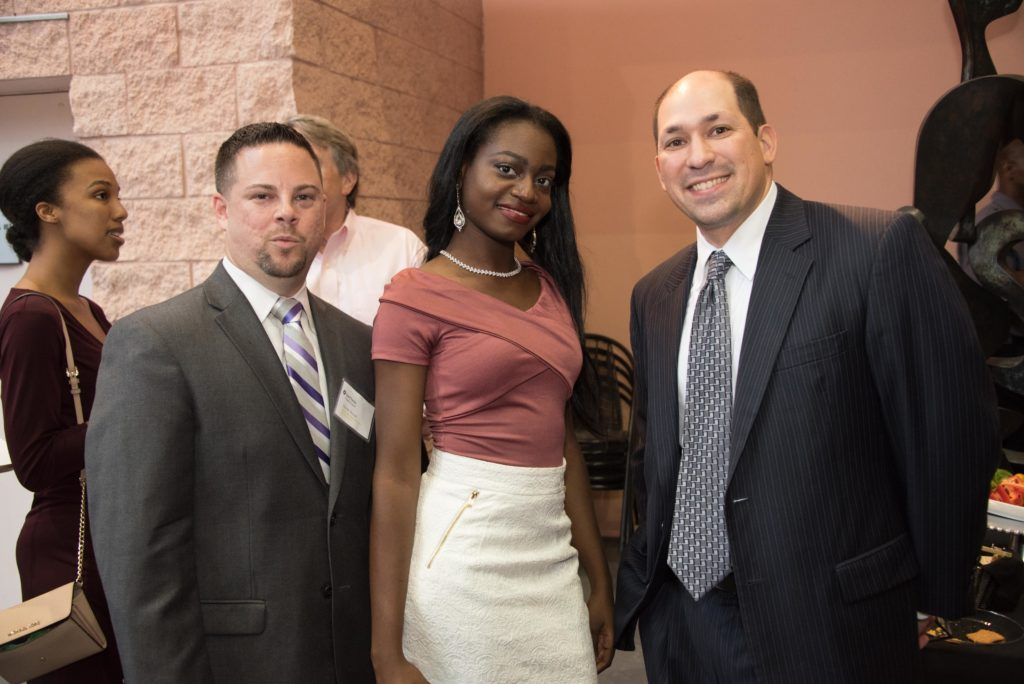 Shawn Mostal, Catherine Octave, Lewis Greenberg
