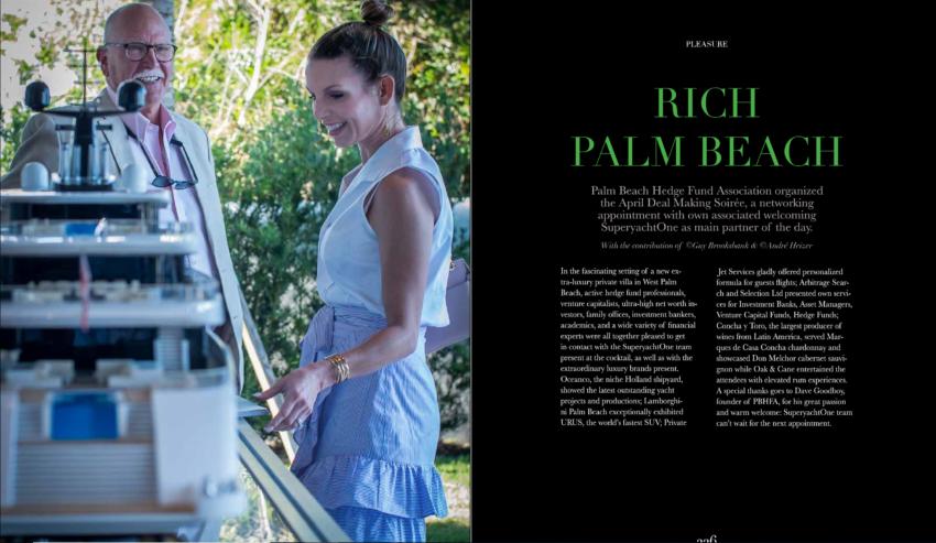 PBHFA Photo Spread Featured In SuperYacht One Magazine!