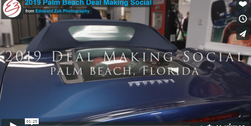Video From Our First Deal Making Social Of 2019