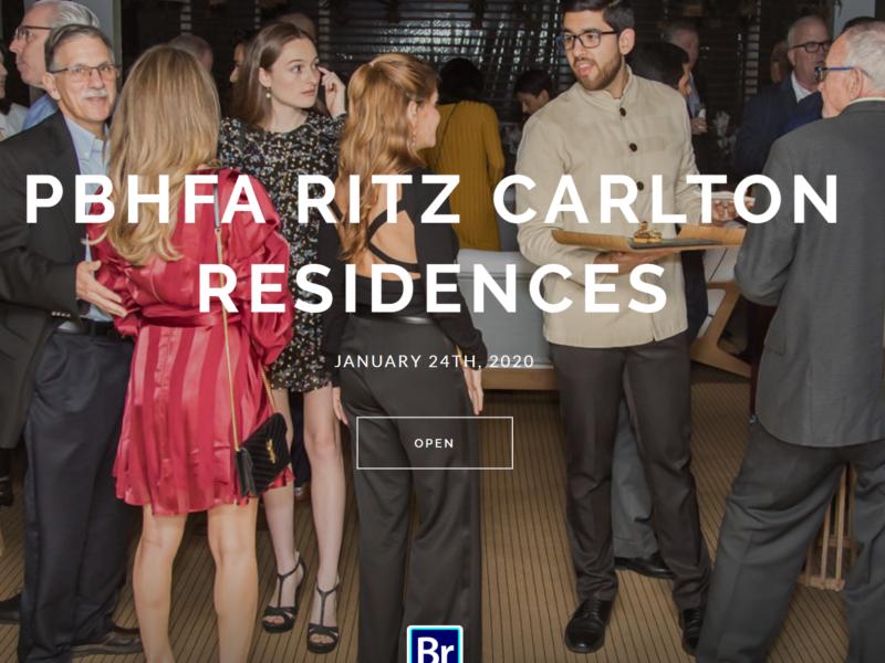 An Incredible Deal-Making Social With The Ritz Carlton (PHOTOS) !!
