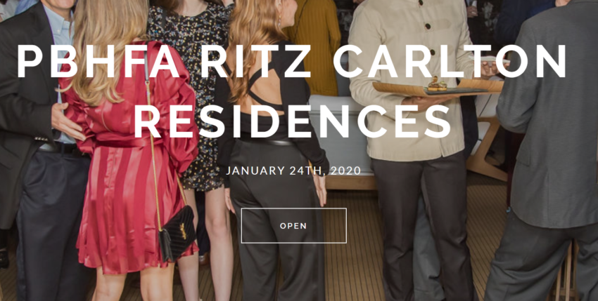 An Incredible Deal-Making Social With The Ritz Carlton (PHOTOS) !!